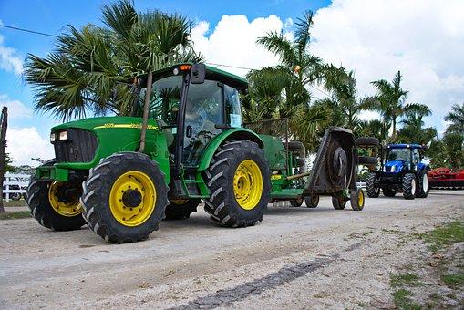 Tractor, Machine, John Deer, Machinery, Farming