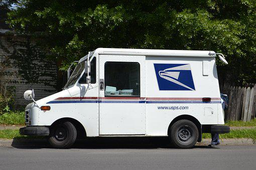 Mail Truck, Mail Clerk, Mailman, Mail-woman