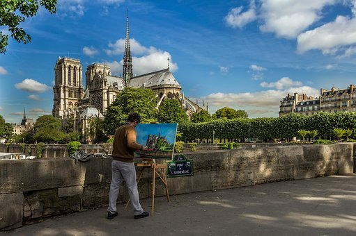 Paris, Notre-dame, Church, Cathedral, History