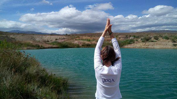 Body Of Water, Nature, Sky, Summer, Outdoors, Yoga
