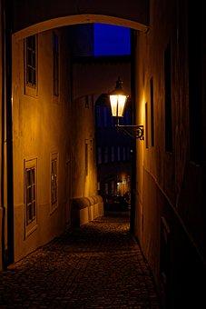 Lamp, Prague, Street, City, Antiquities, Monument