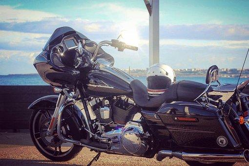 Transport, Vehicle, Wheel, Motorcycle, Road Glide