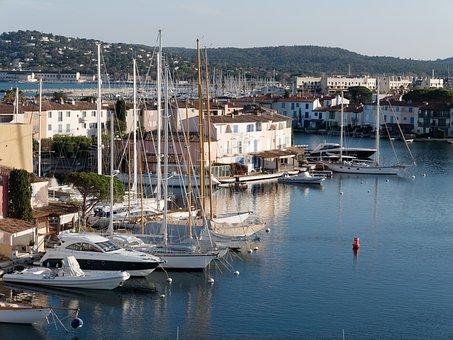 Refuge, Body Of Water, Yacht, Marina, Sea, Sailboat