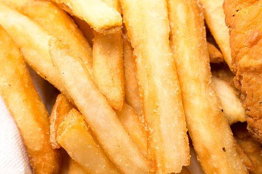 Potato, Fries, Fast, Food, Salty, Crispy
