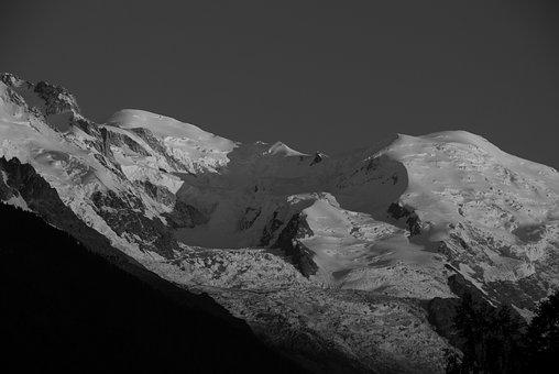 No Person, Snow, Panoramic, Mountain