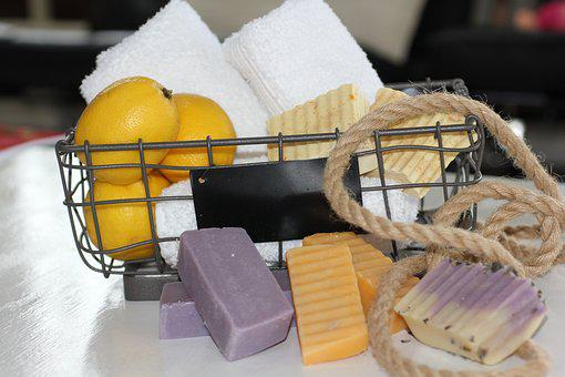 Food, Basket, Relaxation, Soaps, Natural Soap