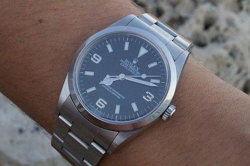 Time, Watch, Clock, Minute, Timer, Rolex, Explorer
