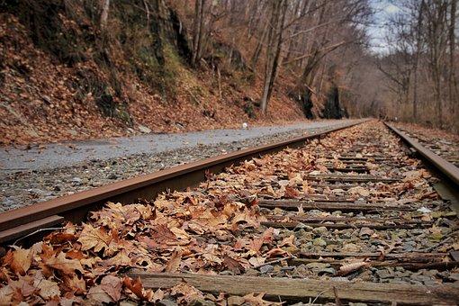 Railroad Track, Railway, Guidance, Locomotive, Track