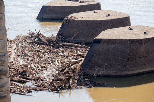 Water, Sea, Seashore, River, Pollution