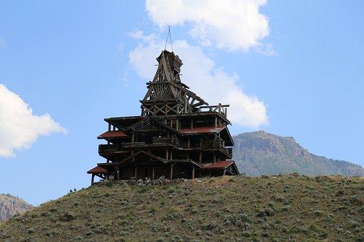 Outdoors, Travel, Sky, Mountain, Wyoming, Cody, Rock