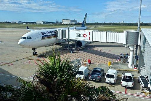 Transportation System, Airport, Airplane, Travel