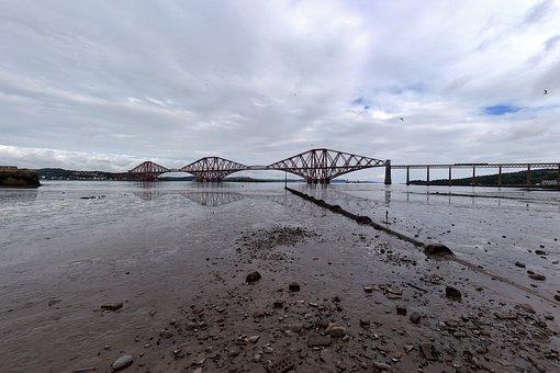 Waters, Horizontal, Sky, Nature, Beach, Scotland