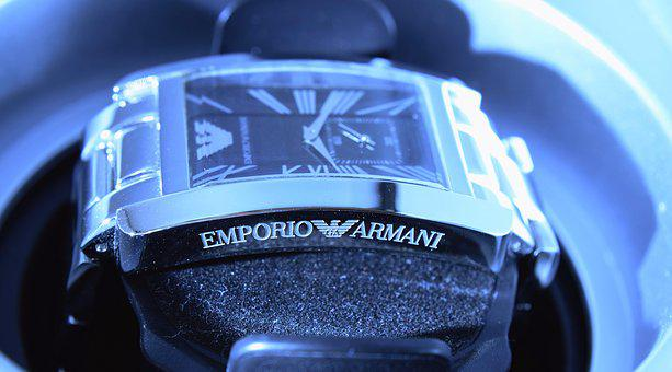 Brand Watch, Brand, Emporio Armani, Wrist Watch, Clock
