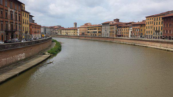 River, Water, Travel, Architecture, Canal, City