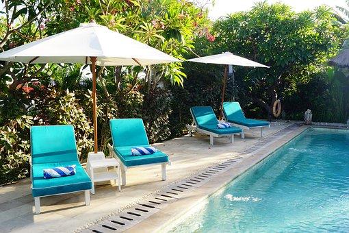 Umbrella, Luxury, Dug-out Pool, Tropical, Summer