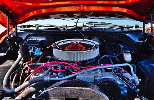 Engine, Air Intake, Air Filter, Power, Motor