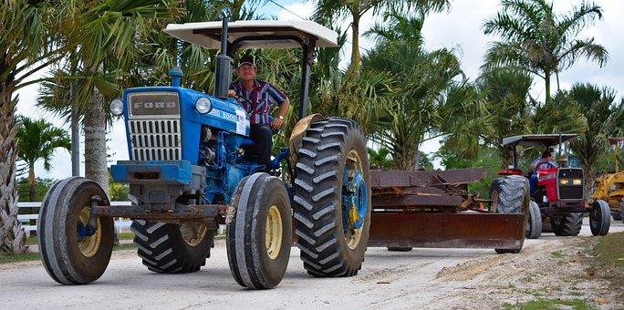 Tractor, Farm Equipment, Agriculture, Farming