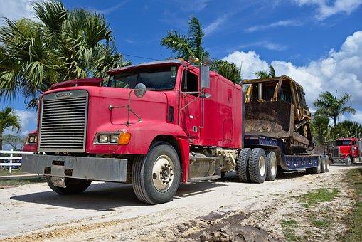 Truck, Vehicle, Transportation System, Haul, Heavy