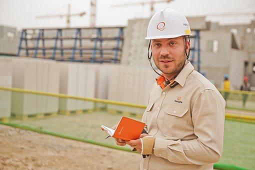 Helmet, Construction, People, Job, Work, Building