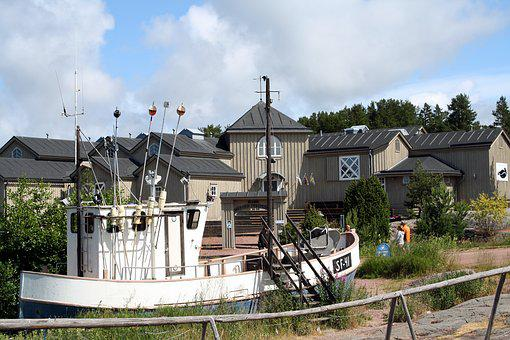 House, Building, Fishing, Museum, Architecture, Boat