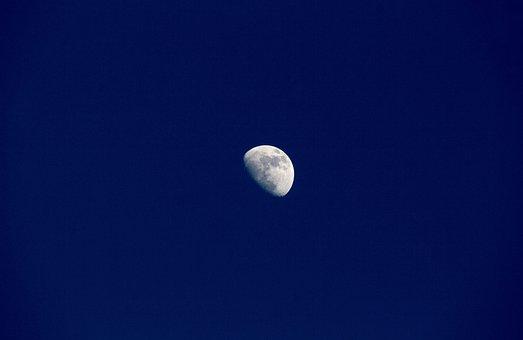 Moon, Sky, Astronomy, Luna, Lunar