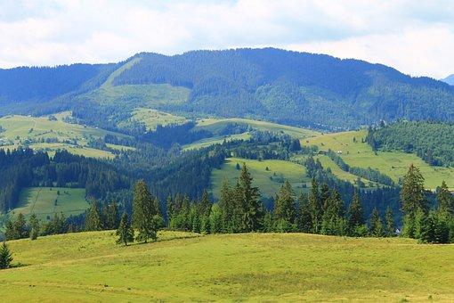 Nature, Carpathians Mountain, Landscape, Panoramic