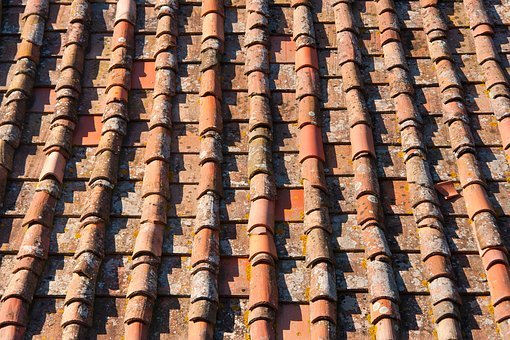 Roof, Tile, House, Desktop, Fabric, Old, Top, Pattern