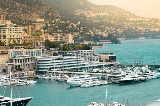 Sea, Harbor, Water, Seashore, Travel, Monaco