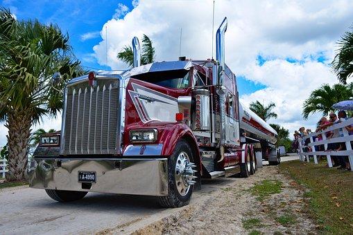Semi Truck, Big Rig, Transportation, Truck, Big, Semi