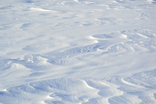 Snow, Snowdrifts, Winter, Field, White, Landscape
