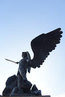 Sky, Statue, Silhouette, Symbol, Outdoors, Sculpture