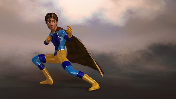 Super Hero, Superman, Hero, Male, Fight, Challenge