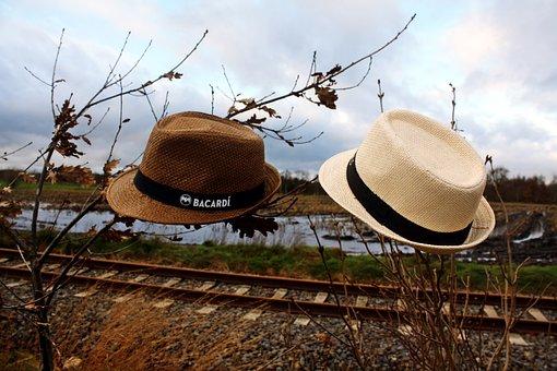 Straw Hat, Pair, Moor, Teufelsmoor, Vörder Country