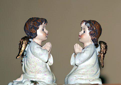 Angels, Angel, The Figurine, Dreaminess, The Art Of