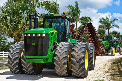 Tractor, Machine, All Wheel Drive, Big Machine
