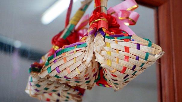 Basket, Wallpaper, Traditional, Congratulations