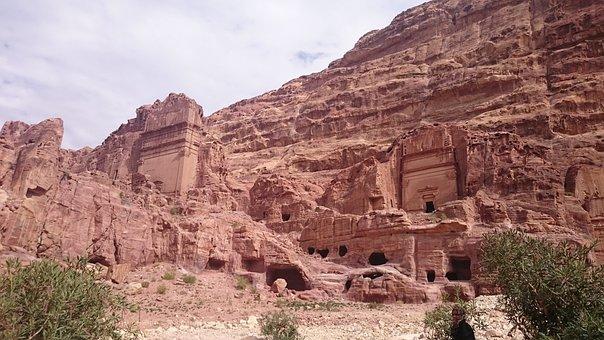 Desert, Travel, Rock, Sandstone, Stone, Archaeology
