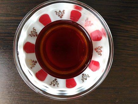 Tea, Pottery, No One, Hot, Turkish Tea, Tea Plate