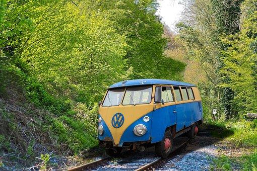 Vw, Railway, Strange, Seemed, Oldtimer, Volkswagen