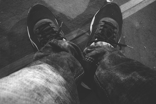 People, Adult, Man, Wear, Two, Military, Monochrome