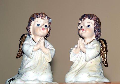 Angels, Angel, The Figurine, Sculpture, Love, Children
