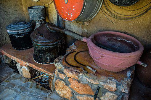Distillery, Container, Pottery, Artisan, Pot, Old