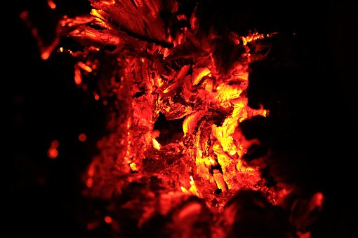 Fire, Hell, Wood, Burning, Flames, Stove, Black Hole