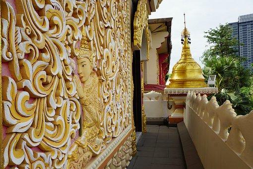 Buddha, Wat, Temple, Religion, Spirituality