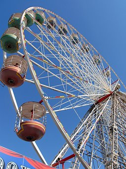 Carousel, Carnival, Ferris Wheel, Entertainment, Wheel