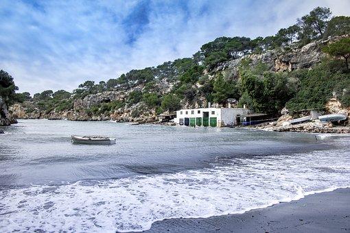 Mallorca, Cala Pi, Llucmajor, Waters, Coast, Nature