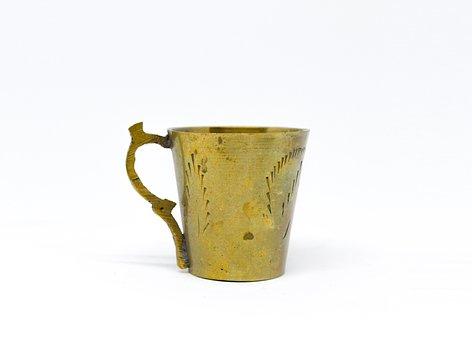 Drink, Cup, Tea, Pot, Handle, Mug, Retro, Hot