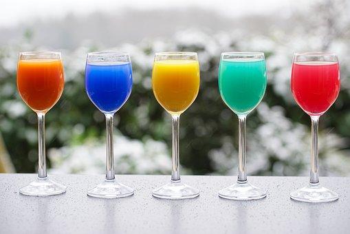 Cocktails, Drinks, Beverages, Juices, Juice Glasses