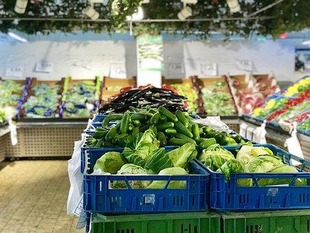 Market, Food, Shop, Sale, Supermarket