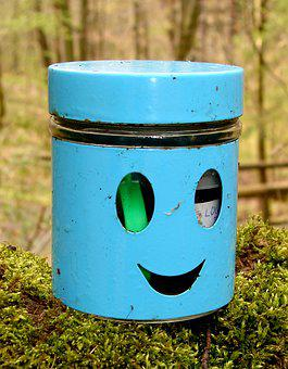 Container, Canning, Geocaching, Geocache, Cache, Gps